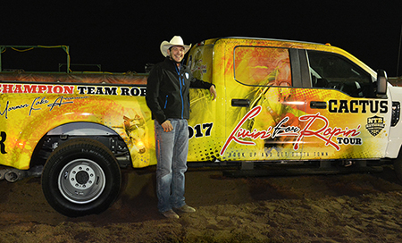 Isaac Lopez Wins New Truck From NTR