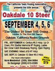 ACTRA - Oakdale 10 Steer