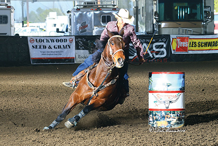 Linda Vick Is Chowchilla Barrel Champion
