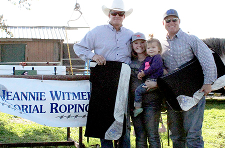 Jeannie Witmer Memorial Roping