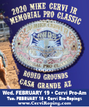 Mike Cervi Memorial Roping