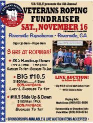 Veteran's Roping Fundraiser