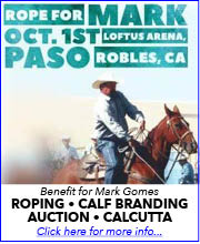 Mark Gomez Benefit Roping