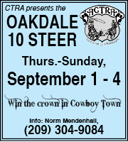 Oakdale 10 Steer - July 2016