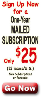 Sign up for a 1 year subscription for only $25